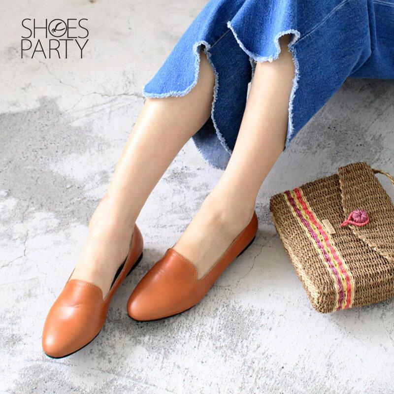 【C2-17916L】素面牛皮歐貝拉_Shoes Party 2
