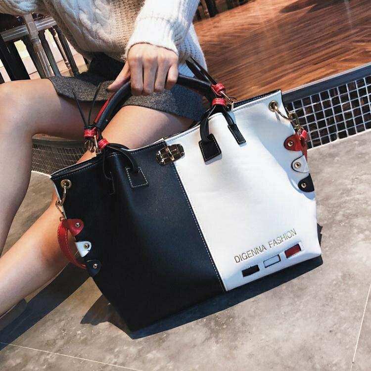 秋季上新款個性大容量單肩斜挎包包女2020韓版潮時尚百搭手提女包 小明同學