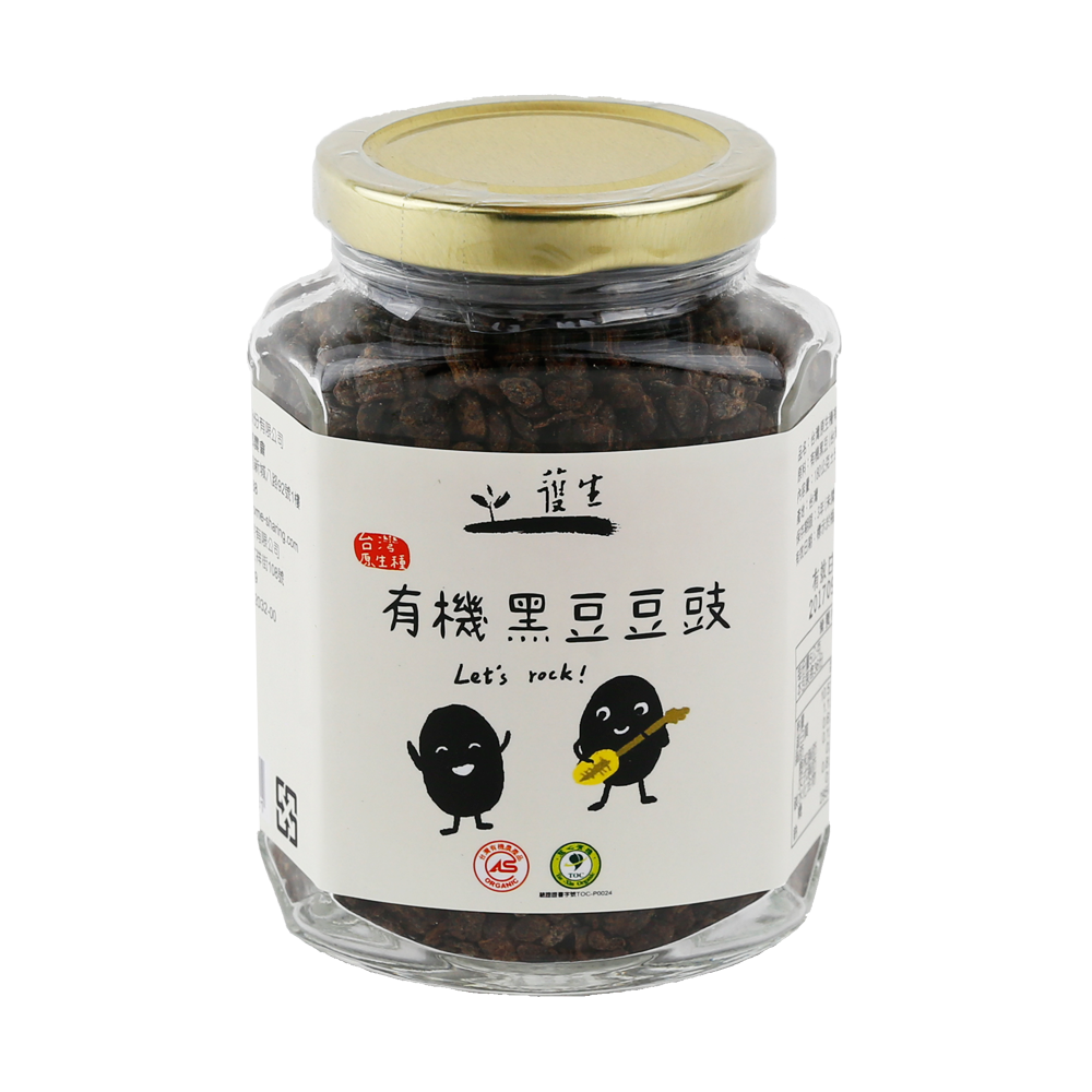 有機台灣原生種黑豆豆豉