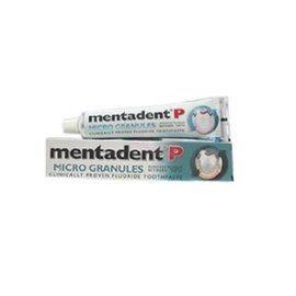 美達淨Mentadent P 潔淨微粒含氟牙膏 100G/條★愛康介護★