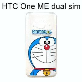 哆啦A夢透明軟殼 [大臉] HTC One ME dual sim (5.2吋) 小叮噹【正版授權】