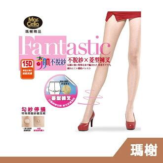 RH shop 瑪榭 奇肌不脫紗。15丹T型全透明全彈性柔膚絲襪 台灣製 MA-11453