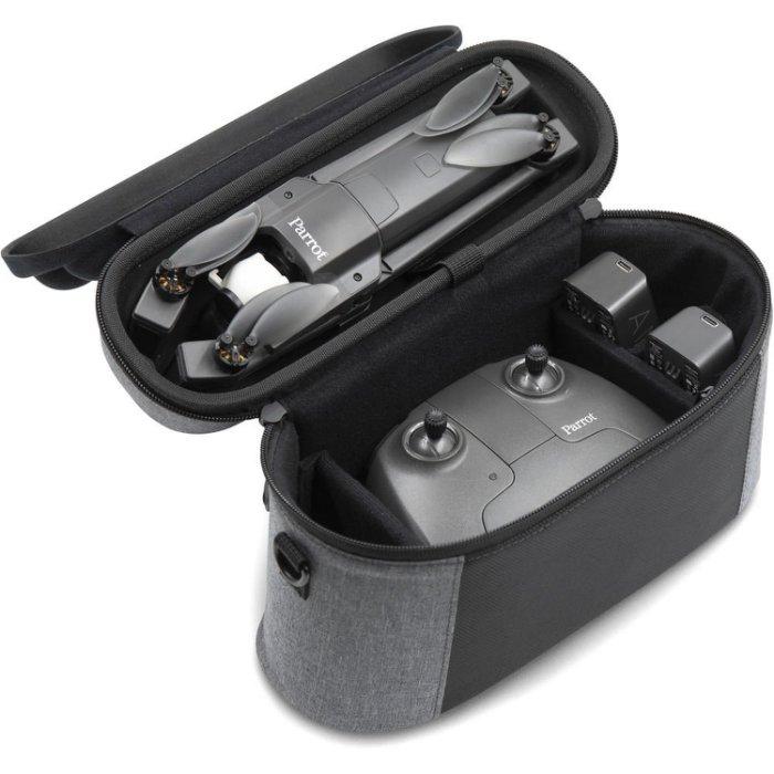 【銀行刷卡金+樂天點數回饋】含電池x3+原廠背包+遙控器~ Parrot Anafi Extended 派洛特 迷你 摺疊 空拍機 航拍機(公司貨)