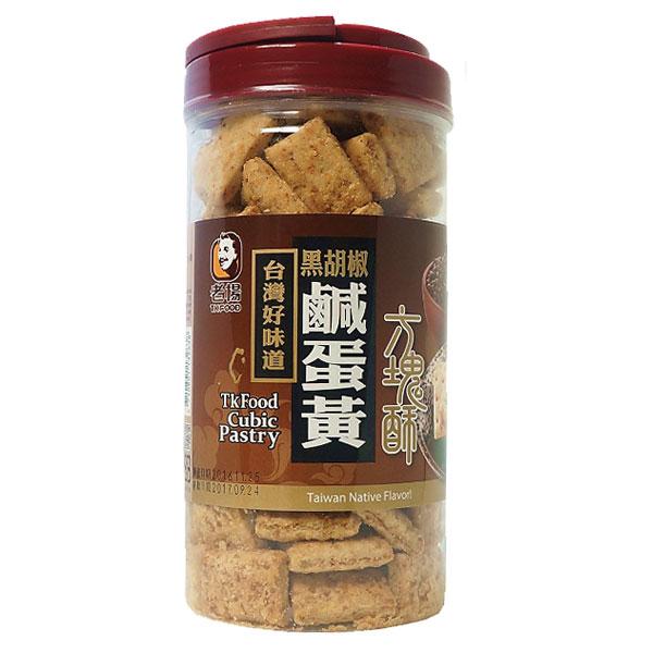 老楊方塊酥-黑胡椒鹹蛋黃370g 1