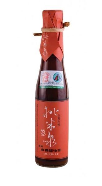 鏡感樂活市集 甘寶 桃米泉 頂級有機蔭油膏 410ml/ 瓶
