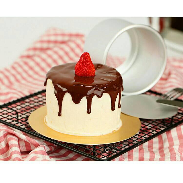 烘焙具匠  4吋蛋糕模具[加高]戚風蛋糕模具 烘培工具 迷你蛋糕 四吋烘焙模具活底