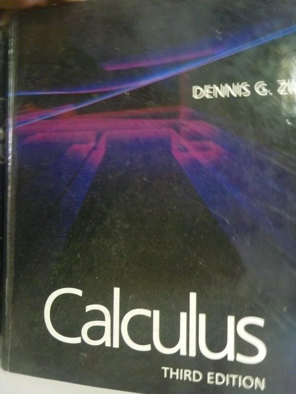 【書寶二手書T2/大學商學_WGP】Calculus3/e_Dennis G. Zill