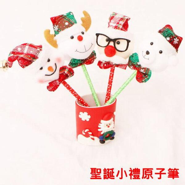 塔克玩具百貨:聖誕節聖誕禮物原子筆中性筆禮品筆聖誕小禮聖誕老公公麋鹿雪人白熊耶誕禮物【塔克】