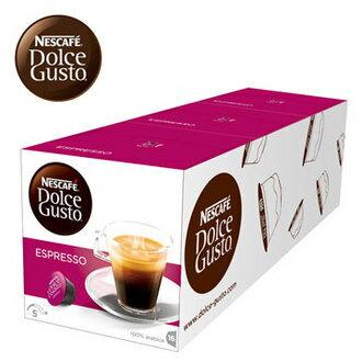 雀巢 新型膠囊咖啡機專用 義式濃縮咖啡膠囊 (一條三盒入) 料號 12225838 ★純粹香醇的味蕾挑戰