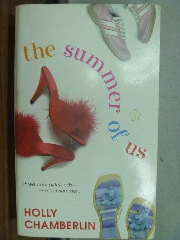 【書寶二手書T7/原文小說_MNK】the summer of us_Holly Chamberlin