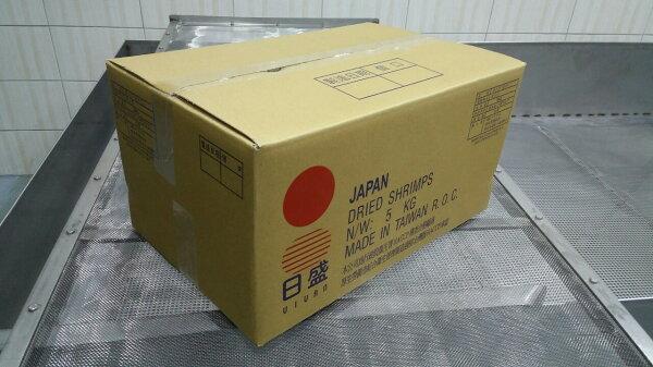 乾躁櫻花蝦5KG批發裝[外銷品]