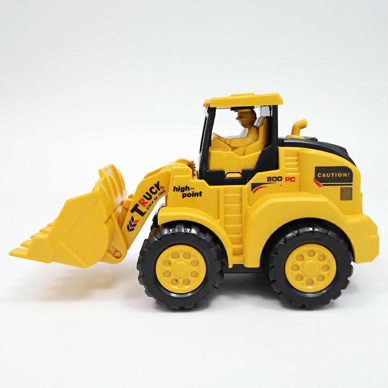 兒童挖掘機玩具 兒童工程車玩具按壓慣性挖土機男孩寶寶益智耐摔推土機挖掘機模型 【CM5038】