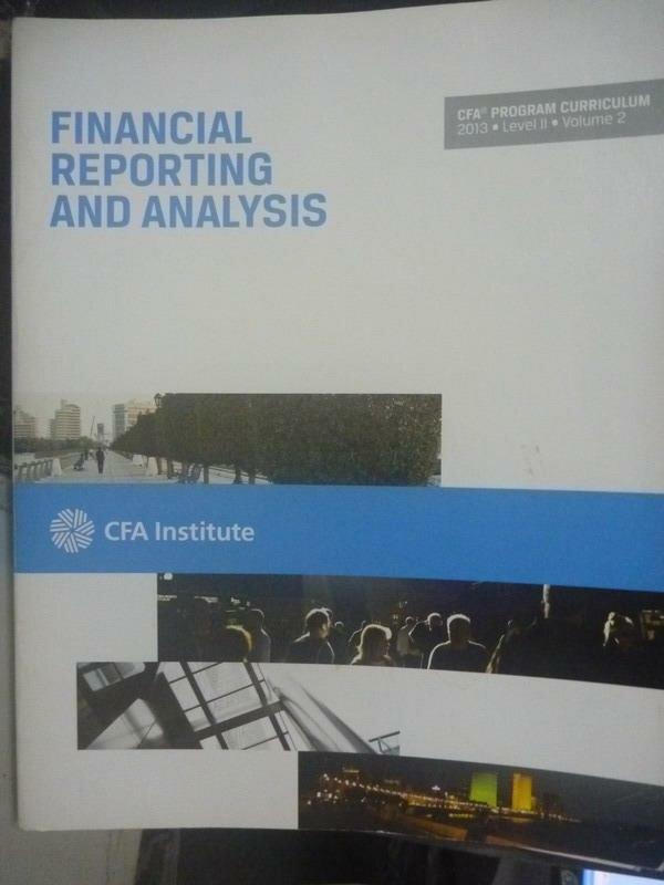 ~書寶 書T5/大學商學_ZBU~2013 Level II Vol.2~Financia
