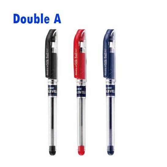 📌買一送一大優惠📌Double A 極順筆蓋式 原子筆 DBP-207 0.7mm