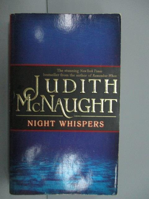 ~書寶 書T3/原文小說_NNW~Night Whispers_Judith McNaug