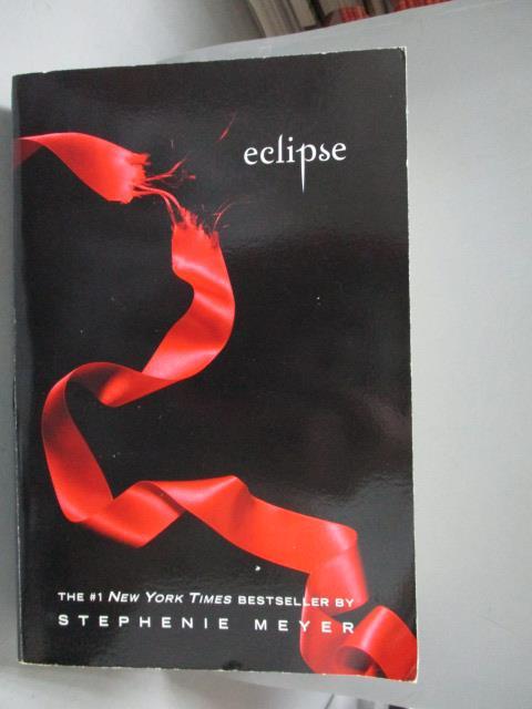 【書寶 書T1/原文小說_OGD】Eclipse_Stephenie Meyer