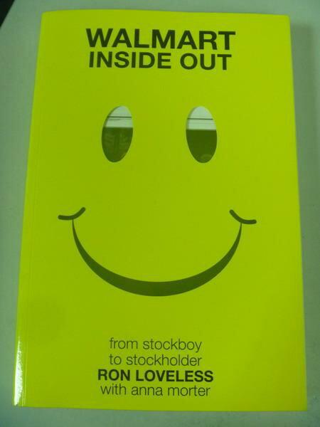 【書寶二手書T9/原文小說_IQW】Walmart Inside Out_Loveless, Ron
