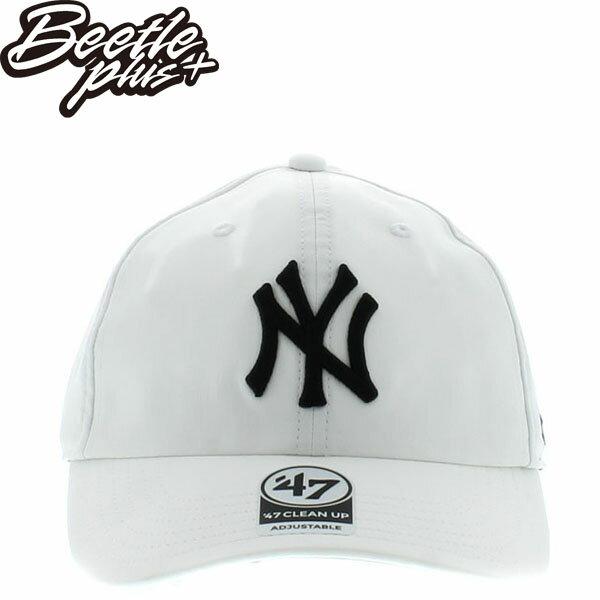 BEETLE 47 BRAND 老帽 紐約 洋基 NEW YORK YANKEES DAD HAT 大聯盟 MLB 白? MN-433