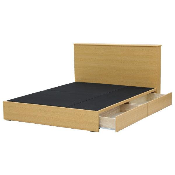 ◎雙人床座 床架 附抽屜 T-15 BOX NA NITORI宜得利家居 3