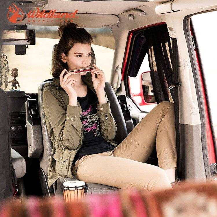 WildLand荒野 0A51313女彈性透氣抗UV長褲 (S~XL) / 城市綠洲 (抗紫外線、雙向彈性、戶外機能)