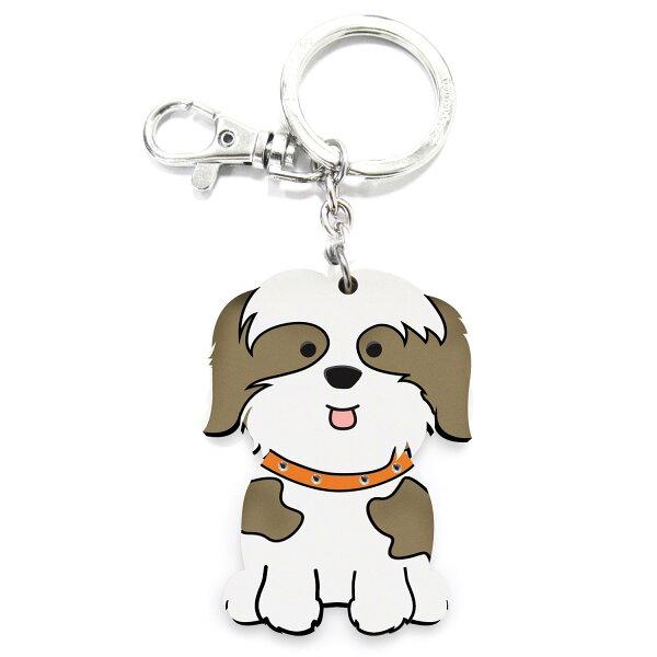 加拿大foufoudog鑰匙圈-西施犬Shin-Tzu