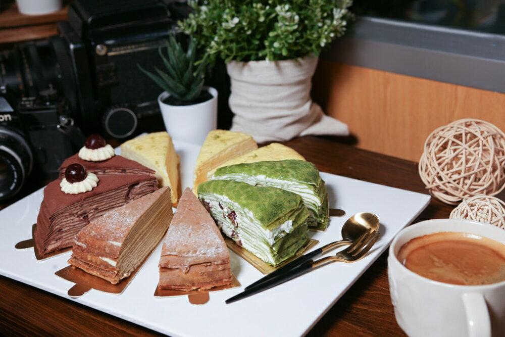 手工千層蛋糕~櫻桃巧克力 7吋 (約5CM高) 甜點 生日蛋糕