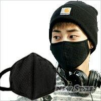 ~ New Style ~ 韓流不敗款 明星最愛 EXO 李敏鎬 同款3D立體格紋口罩 濾