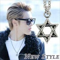 ☆ New Style ☆ 韓國進口 EXO Kris 吳亦凡 Overdose 中毒 上癮 同款鏤空六角星項鏈