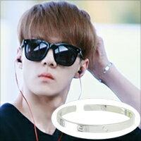 ☆ New Style ☆ 明星最愛 EXO SEHUN 吳世勳 吳世勛 同款永恆之愛C形手環 ( 單只 )