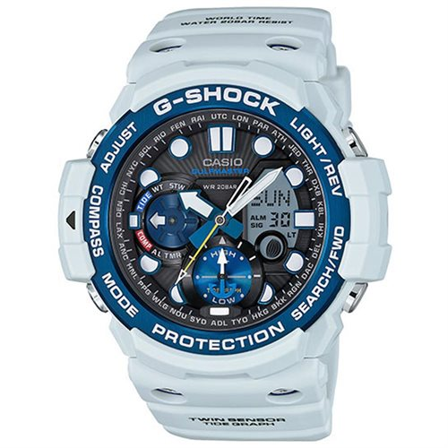 Casio Unisex Quartz Analog and Digital Watch Dial Light Grey Watch - GN1000C-8ACR 0