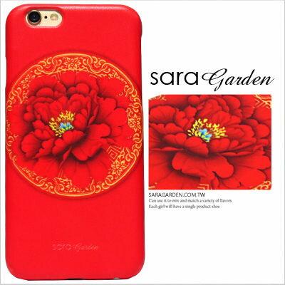 3D 客製 雕花 金邊 紅花 iPhone 6 6S Plus Note5 S6 M9 8