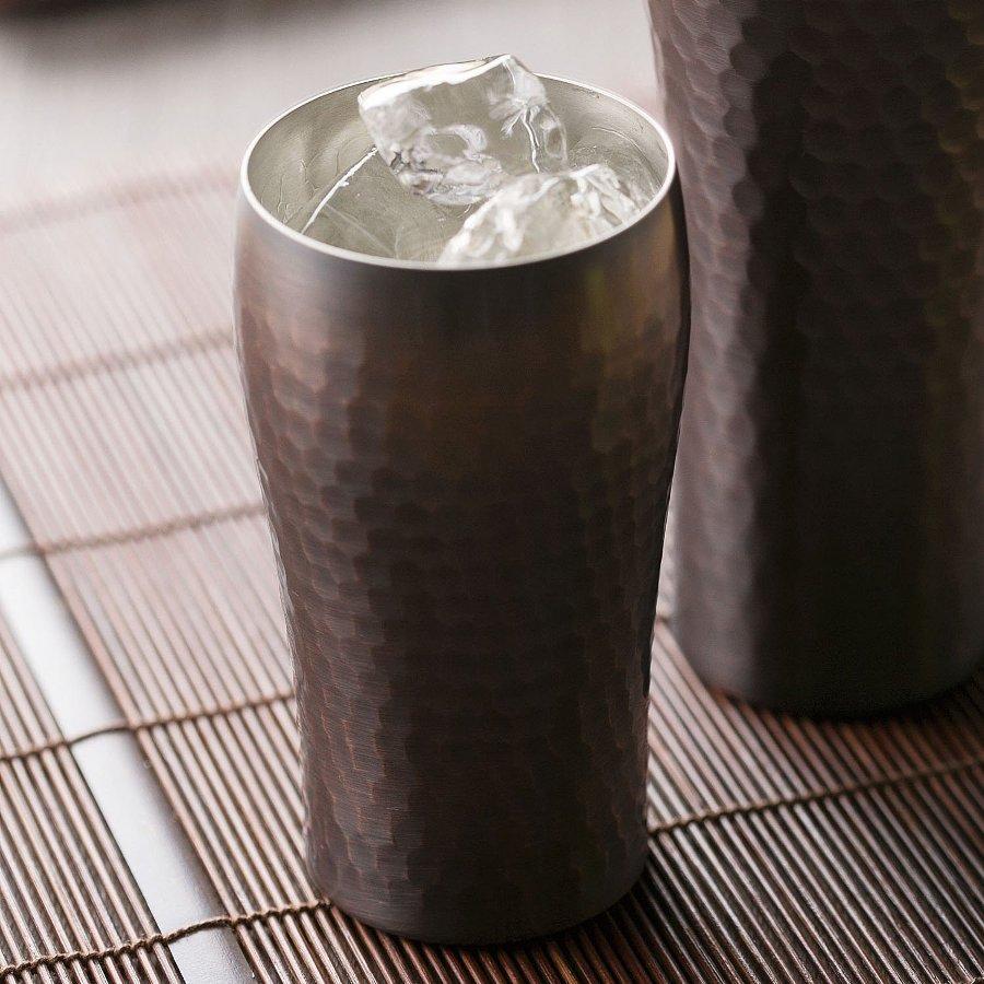 【沐湛咖啡】日本進口精品 燕三 銅製啤酒杯 銅杯300ML 現貨 可當磨豆機接粉杯 小富士 KALITA適用