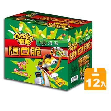 羊咩咩雜貨小舖 奇多隨口脆-家常起司/ 海苔/ 雞汁/ 玉米濃湯/ 微香辣(12入/ 盒)
