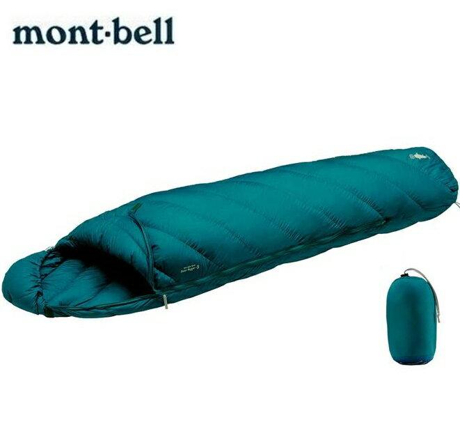 Mont-Bell 羽絨睡袋/800FP登山睡袋/輕量登山羽絨睡袋 Alpine Down Hugger 800 #3 1121302