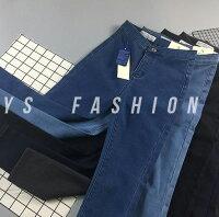 牛仔窄管褲推薦到鉛筆褲/窄管褲 魅力單寧高腰修身加絨彈力牛仔褲 艾爾莎【TAE7226】就在艾爾莎時尚精品推薦牛仔窄管褲