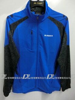 【登瑞體育】KAPPA 男生單層風衣薄外套 - C16619125