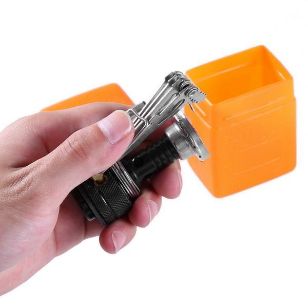 Ultralight Portable Gas Butane Propane Canister Outdoor Camping Stove Burner 0