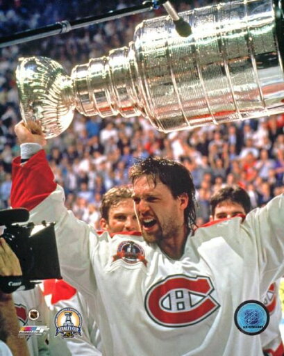 Patrick Roy with the 1993 Stanley Cup Photo Print (16 x 20) 2f978b92536a0f7912821cb835ce96fd