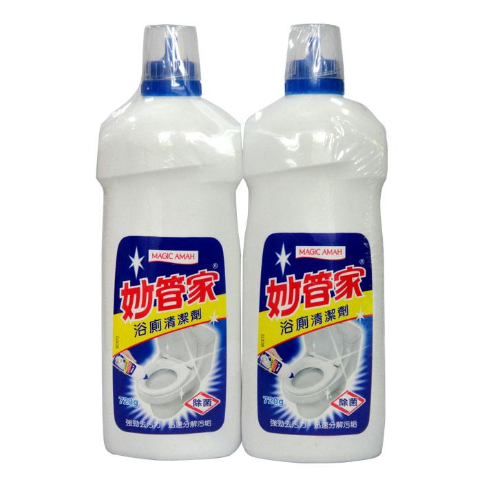 妙管家 浴廁清潔劑 720gx2入/組【康鄰超市】