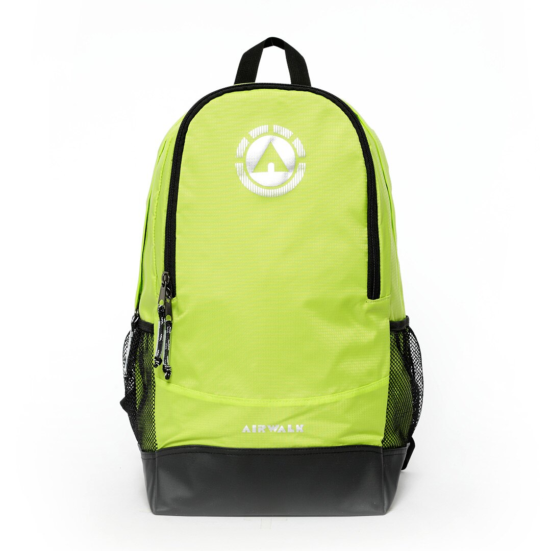 AIRWALK街頭系列-記憶旅人系列後背包(螢綠)