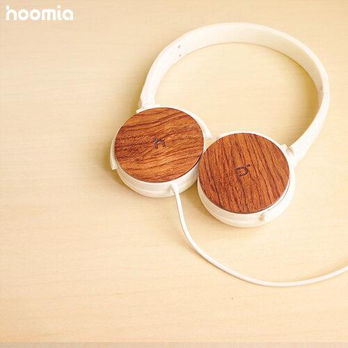 hoomia 好米亞| U3Wood 經典旋轉折疊耳罩式耳機-原木紅花梨