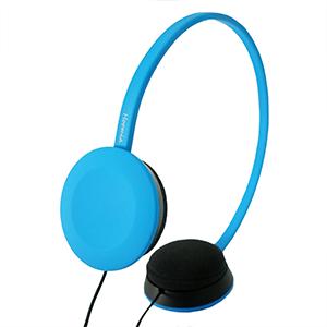 hoomia 好米亞 U2 Ace -City Life多彩生活頭戴式立體聲耳機-藍