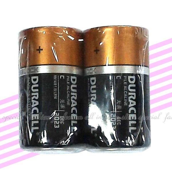 金頂鹼性電池2號 金頂電池 DURACELL鹼性電池 2入【GU225】◎123便利屋◎