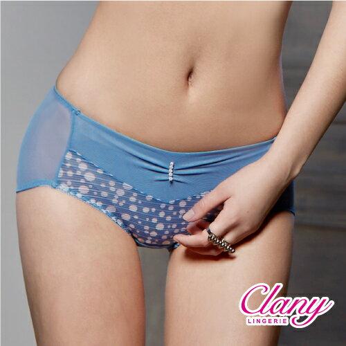 【可蘭霓Clany】迷濛優雅點點M-XL內褲 閃耀藍 5672-53 0