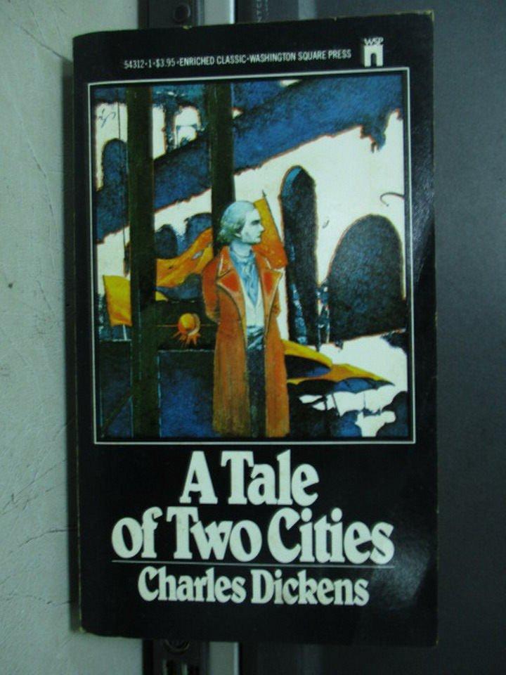 【書寶二手書T3/原文小說_LPF】A Tale of Two Cities_Charles Dickens