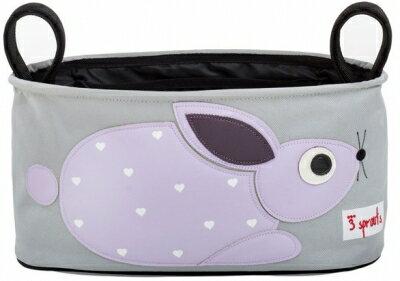 ★衛立兒生活館★加拿大 3 Sprouts推車置物袋-小兔子