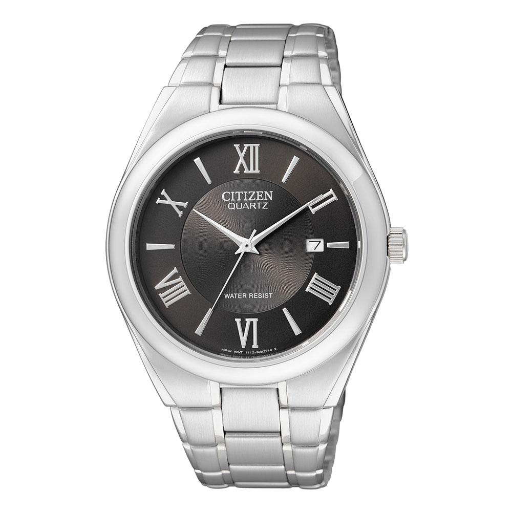 Citizen Men's Classic Watch Japanese Quartz Mineral Crystal BI0950-51E 0