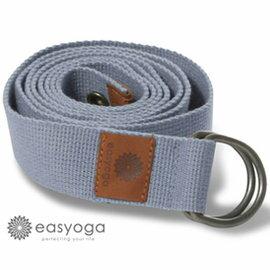 easyoga 瑜珈伸展帶 專利ez-carrygo瑜珈伸展帶-藍色 長度 : 180cm