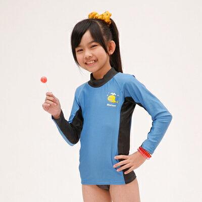 【≡MARIUM≡ 】兒童半身水母衣─藍(MAR-2808)