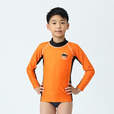 【≡MARIUM≡ 】兒童半身水母衣─橘色(MAR-2809)